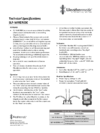 SLF-WIRERIDE Technical Specifications
